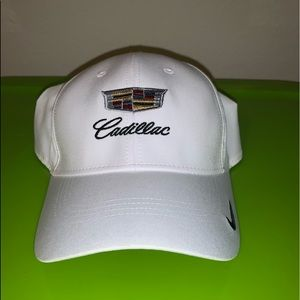 NEW! White Cadillac Cap